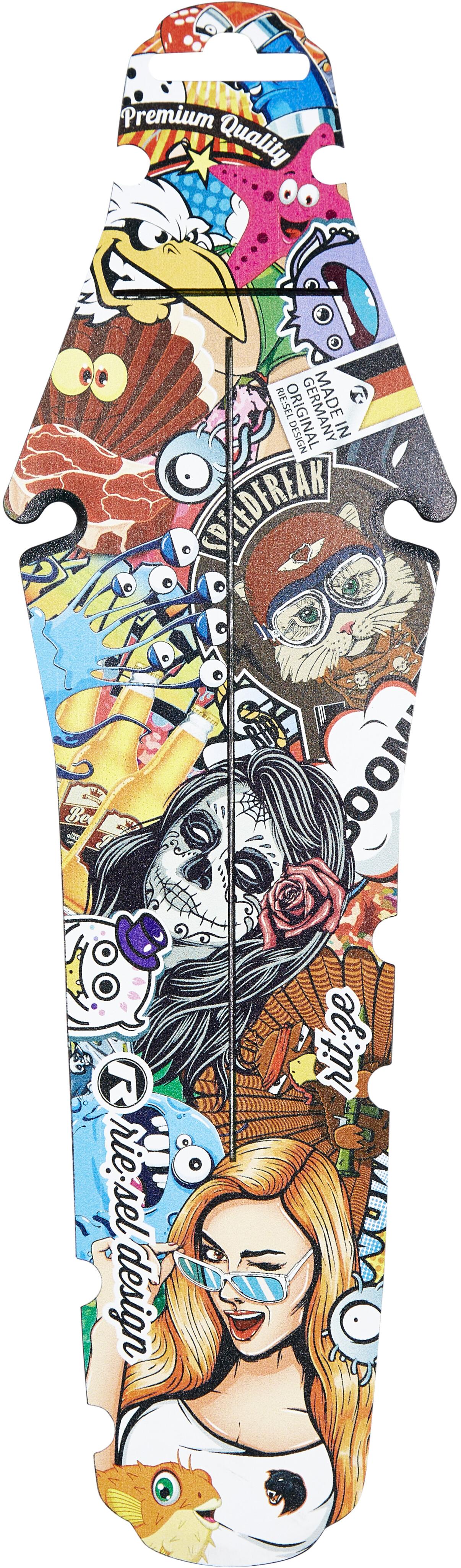 Awesome Rie Sel Design Rit Ze Rear Mudguard Stickerbomb Beutiful Home Inspiration Xortanetmahrainfo